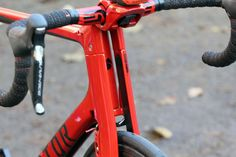 Factor Vis Vires - head tube and fork