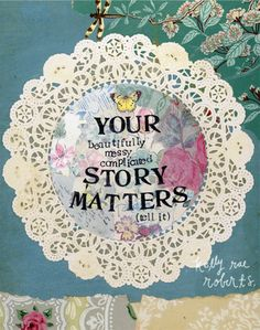 Your story matters II - Print