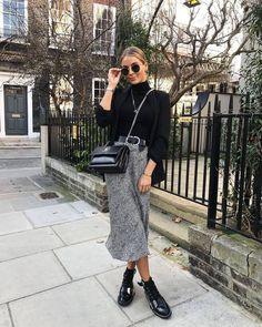 Charming Fall Street Style Outfits Inspiration to Make You Look Cool this Season « The Best Fashion Lavander simple evening and prom dresses Winter Mode Outfits, Winter Fashion Outfits, Spring Outfits, Autumn Fashion, Casual Outfits, Cute Outfits, Fasion, Paris Winter Fashion, Vegas Outfits