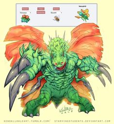 Venudrill | 43 Pokemon Mash-Ups That Are Better Than The Real Thing