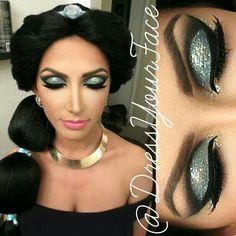 princess jasmine makeup - Google Search