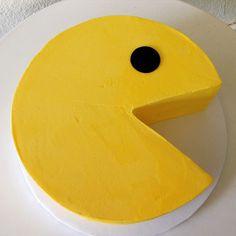 Pacman cake by Stuffed Cakes StuffedCakes.com Custom Cakes | Seattle, WA, USA
