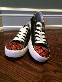248261f3fb2a6 Bling Basketball Shoes. Basketball Converse Shoes. Women s Custom Converse  Shoes. Basketball Mom Gift