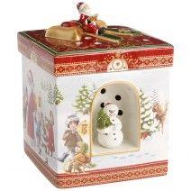 Keksdose Santa Claus Vorratsdose Gebäckdose Plätzchendose 15,9 x 10 cm
