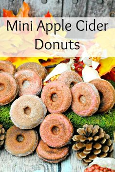 apple recipe. Using Apple Cider, the taste of these Apple Cider donuts ...