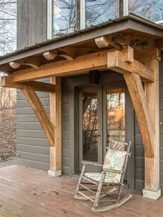 Timber Frame Porch Ideas, Pictures, Remodel and Decor