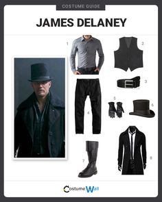 Dress like the mysterious James Keziah Delaney, the character played by Tom Hardy on the BBC One series Taboo.