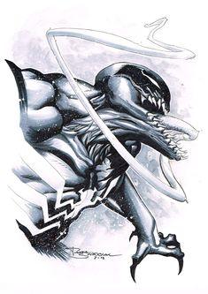 Venom by Rafa Sandoval Comic Art