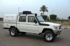 Toyota 70 series Double Cab Pickup B6 Level Armoured Cash in transit .
