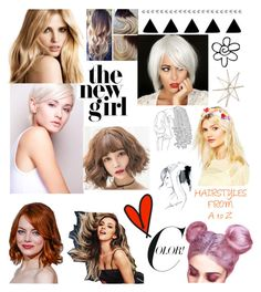 """HAIRSTYLES FROM A to Z"" by julie-bates-eckert on Polyvore featuring beauty, ASOS, GE and Uttermost"