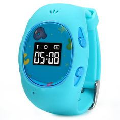 G65 Children GPS Positioning Smart Watch Safe Keeper GPS LBS Wifi Three Mode to Locate (Blue). The Function of GPS + LBS + WiFi Triple Positioning, Helps You Get Your Child Location Accurately. Mobile Phone or Computer GPRS service Platform, both Can Control the watch. By GPRS Positioning, Can Get Your Child Real-Time Location, Trace And Monitor Your Child. The Watch Strap Can Remove Rom The Dial, so You Can Match Them Freely as You Like. Lt Can store 10 Phone Numbers, Which Can Achieve...