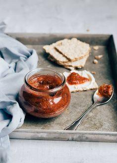 Recept vijgenjam + tips waar dit lekker bij is - Uit Pauline's Keuken Food Inspiration, Jelly, Panna Cotta, Healthy Recipes, Healthy Food, Lunch, Fruit, Breakfast, Ethnic Recipes