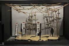 Scenic Design for GVT's 2010 production of Nevermore. Design by J. Wiese & Josh Robinson. Model by Josh Robinson.