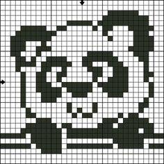 Afbeeldingsresultaat voor crochet bendy and the ink machine Pixel Crochet, Crochet Motifs, Crochet Chart, Diy Crochet, Knitting Charts, Knitting Stitches, Baby Knitting, Knitting Patterns, Crochet Patterns