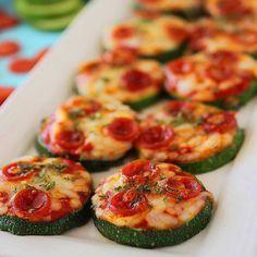 ~Zucchini Pizza Bites