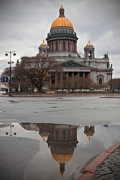 Saint Petersburg, Isaac Cathedral.