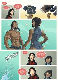 Avatar The Last Airbender Discover Asami loves Korra: Runs in the family part 3 by JakeRichmond on DeviantArt Asami loves Korra: Runs in the family part 3 by JakeRichmond on DeviantArt Avatar Airbender, Avatar Aang, Avatar Cartoon, Avatar Funny, Korra Comic, Avatar World, Avatar Series, Korrasami, Zuko