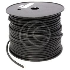 Bobina de cable para la conexión de altavoces. Cable ideal para el montaje de los conectores speakon NL4 de 4 polos o conectores de audio jack 6.3mm. Cable con dos conductores de cobre de 4 x 2,0 mm2. Diámetro del cable de 7,5 mm. Calibre 14GA. Impedancia 10 Ohm/Km. Bobina de 100 m.