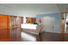 Rabobank's Elegant offices - reception area