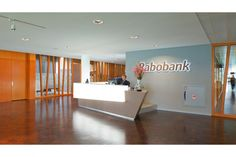 Rabobank's Elegant offices - reception area