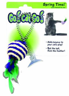 Go Cat Go Spring Time *** Discover this special cat product, click the image : Cat toys