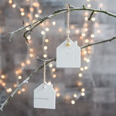Small Hanging Porcelain House-product