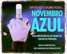 Luiza's Blog: NOVEMBRO AZUL