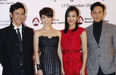 Romantically linked together in the past, Charmaine Sheh, Chilam Cheung, Kevin Cheng, and Myolie Wu were not awkward at all.  tvb Chinese  celebrities and entertainment from Hong Kong Asian drama series Chinese TVB series | Hong Kong
