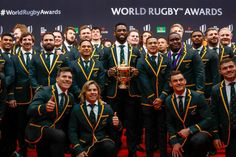 Accolades keep coming for Boks after their World Cup vi. Cruciate Ligament Injury, Rugby Coaching, Rugby Championship, Coach Of The Year, Team Cap, Rugby World Cup, Rugby Players, Best Player, Top Of The World
