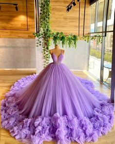Ball Gowns Evening, Ball Gowns Prom, Ball Gown Dresses, Evening Dresses, Formal Dresses, Xv Dresses, Elegant Ball Gowns, Tulle Ball Gown, Dresses For Balls