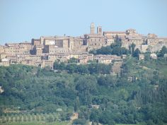 Montepulciano: View from our villa