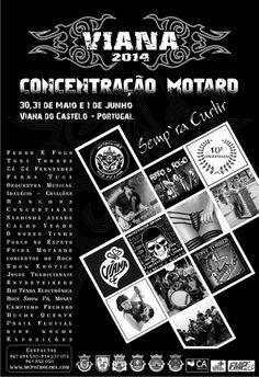 Concentração Motard em Viana do Castelo 2014