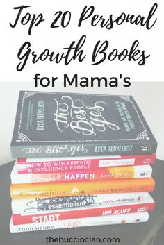 Top 20 Personal Growth Books for Mama�