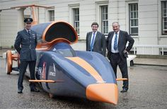 Bloodhound Land Speed Record car clears first test, generates 80,000 horsepower