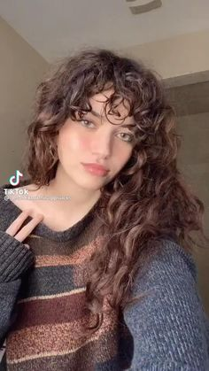 Curly Bangs, Curly Hair Tips, Curly Hair Styles, Rapunzel, Hair Inspiration, Pretty Hairstyles, Hair Looks, Pretty People, Curls