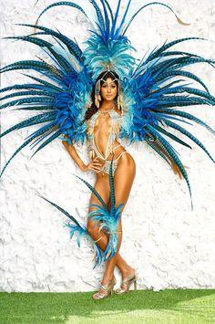 Trinidad fashion BLISS 2015 #carnival