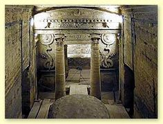 """The Catacombs of Kom el Shoqafa (meaning """"Mound of Shards"""") is a historical archaeological site located in Alexandria, Egypt and is considered one of the Seven Wonders of the Middle Ages."""