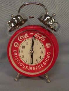 shopgoodwill.com: 1996 COCA-COLA Red Alarm Clock