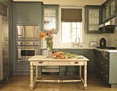 Gray cabinets...love.