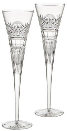 Waterford Crystal Jim O'Leary 50th Anniversary Flutes