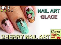 Nail art gourmand - glaces - YouTube