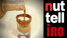 NUTELLINO - LIQUORE ALLA NUTELLA FATTO IN CASA | Fatto in casa da Benedetta Nutella, How To Make Drinks, Limoncello, Dessert Recipes, Desserts, Glass Of Milk, Shot Glass, Peanut Butter, Food Porn
