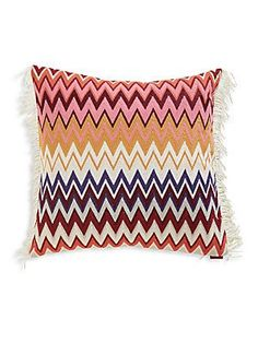 Missoni Home Margot Embroidered Cushion - No Color