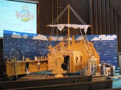 Image result for vbs island decor
