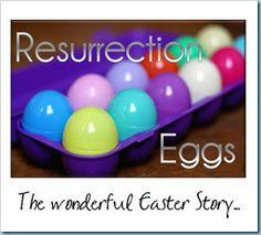 Resurrection Egg ideas.
