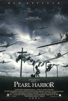 """Pearl Harbor - An offensive Turkey. It was like """"Pearl Harbor as envisioned by Your Idiot Friends at The Playboy Mansion!"""" (or Michael Bay) Pearl Harbor Filme, Film Pearl Harbor, Pearl Harbor Attack, Old Movies, Great Movies, Famous Movies, See Movie, Movie Tv, Pearl Harbour Movie"""