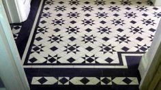 Image result for classic black and white hall floor