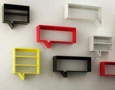 Repisas dialogantes. Shelves