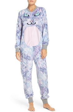 COZY ZOE COZY ZOE Critter One-Piece Pajamas available at #Nordstrom
