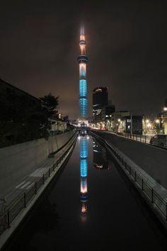 東京スカイツリーが美しい
